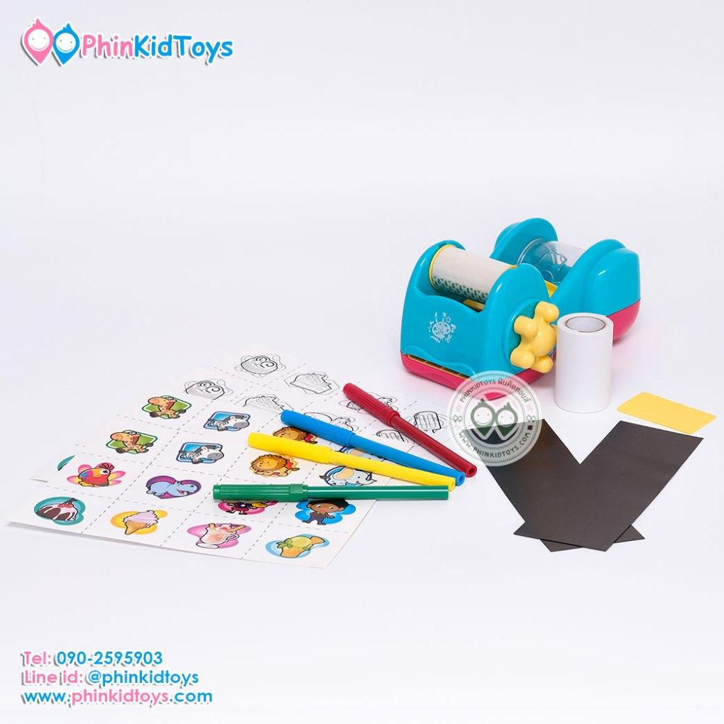 Playgo Sticker Magnets Station ชุดเครื่องประดิษฐ์สติกเกอร์แผ่นแม่เหล็ก