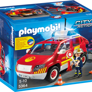 Fire Chief´s Car with Lights and Sound-01