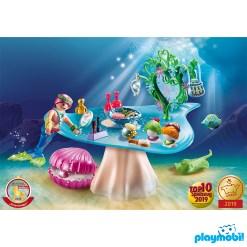 Playmobil 70096 Beauty Salon with Jewel Case เมอร์เมด อุปกรณ์เสริมสวยพร้อมตลับหอยสะสมมุก