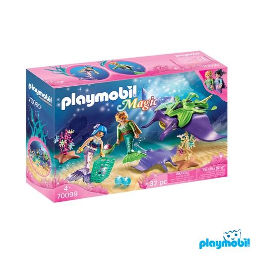 Playmobil 70099 Pearl Collectors with Manta Ray เมอร์เมด นักสะสมไข่มุก และกระเบนราหู