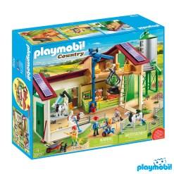 Playmobil 70132 Farm with Animals Figure เพลย์โมบิล ฟาร์ม โรงเรือนฟาร์มปศุสัตว์