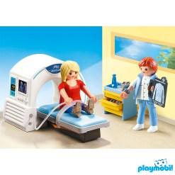 Playmobil 70196 Hospital Radiologist Figure เพลย์โมบิล โรงพยาบาล อุโมงค์ฉายรังสีเอ๊กซเรย์