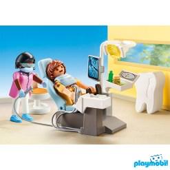 Playmobil 70198 Hospital Dentist Figure เพลย์โมบิล โรงพยาบาล ห้องทำฟันและเอ๊กซเรย์