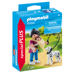 Playmobil 70154 Specials Plus Mother with Baby and Dog Figure เพลย์โมบิล สเปเชียล แม่ลูก และหมา