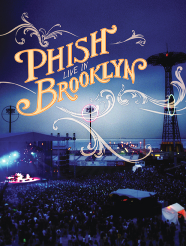 Live In Brooklyn DVD  Phish