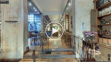 Google StreetView en Le Pain Quotidien - Palermo Ciudad de Buenos Aires