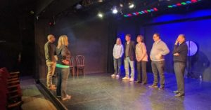 PHIT Corporate leads an executive leadership training for Tessellate on one of our stages.