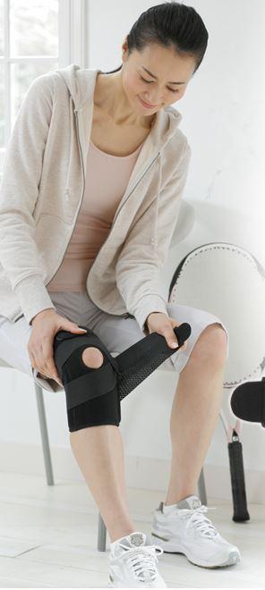 Phiten Titanium Knee Brace is the best knee brace to stablize a shakey knee