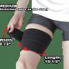 Phiten Titanium Compression Wrap Medium