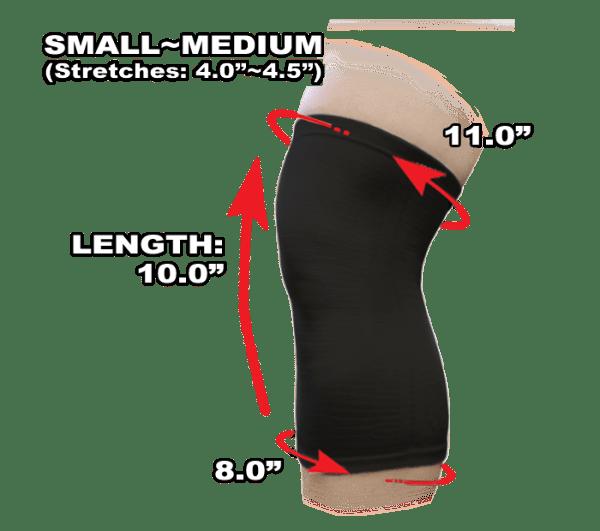 Phiten Titanium Knee Support S to M