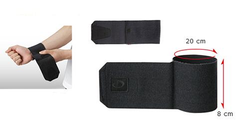 Phiten Titanium Wrist Support size
