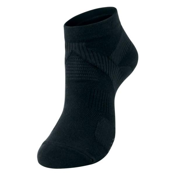 Sock King Black Black round toe