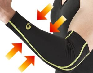 x30 Sports Arm Sleeves help with daily arm care