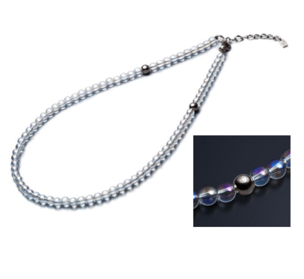 Phiten Titanium Crystal Necklace
