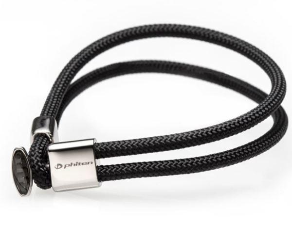 X100 Titanium Bracelet Carbon is the sleek bracelet with X100 AT technology