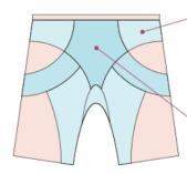 Phiten Short Front Image