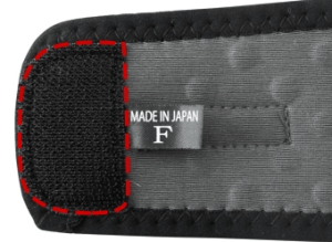 The Wrist and Ankle Wrap uses velcro to keep it together.