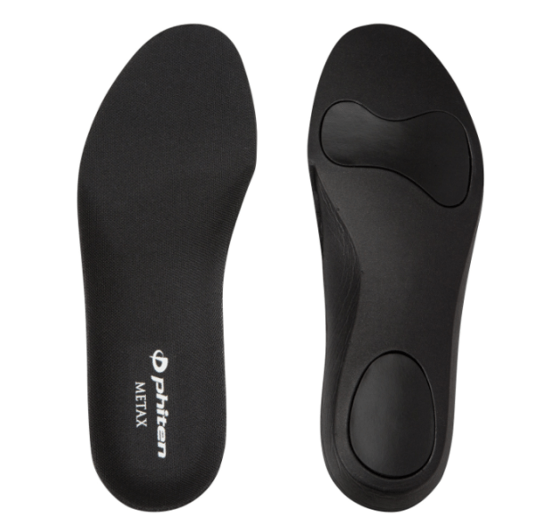 Phiten insole with arch support has its 3D structure.