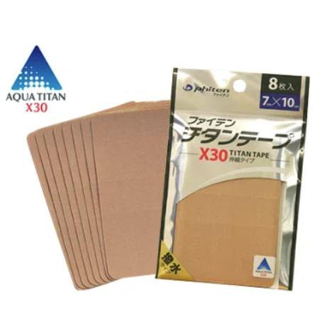 Titanium tape is perfect for big areas