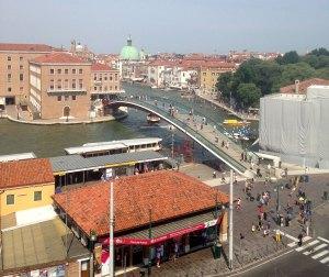 Utsikt fra P-hus-taket