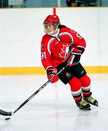 Geraldine Heaney Canadien hockey player