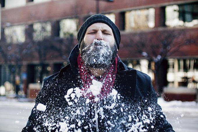 Snow Man by Chloe Rice
