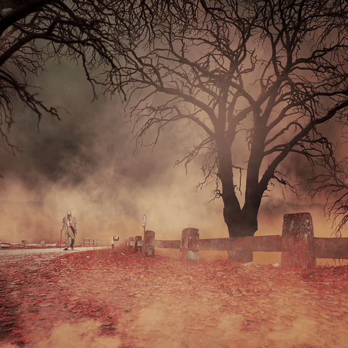 The Red Tie by Caras Ionut