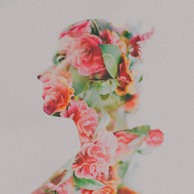 Double Exposure Portrait by Sara K Byrne