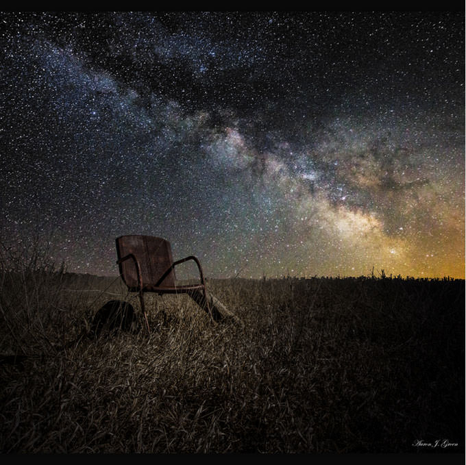 Redneck Planetarium by Aaron J. Groen