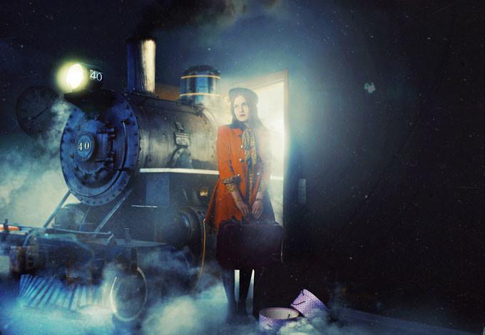 Night Train by Phillip Schumacher