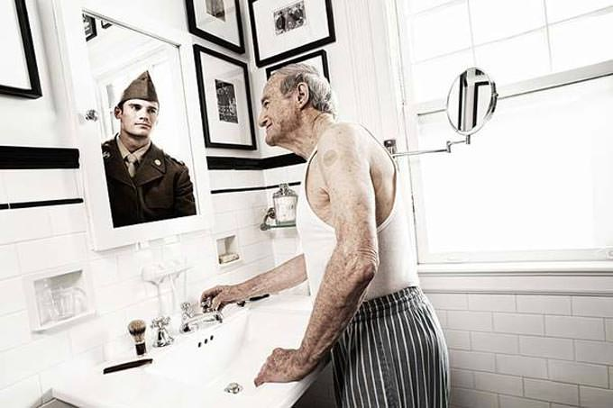 """Novartis """"Reflections"""" Campaign by Tom Hussey"""