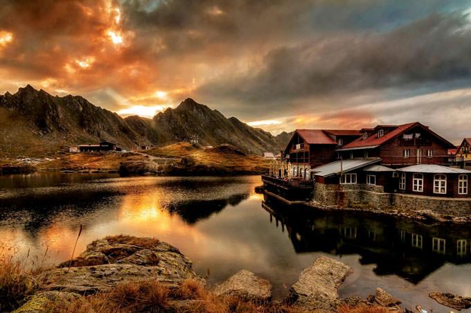 Balea Lake by Tony Goran