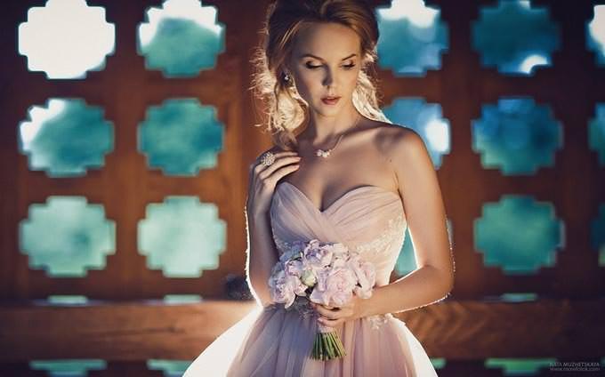 Bride & Light by Natalia Muzhetskaya