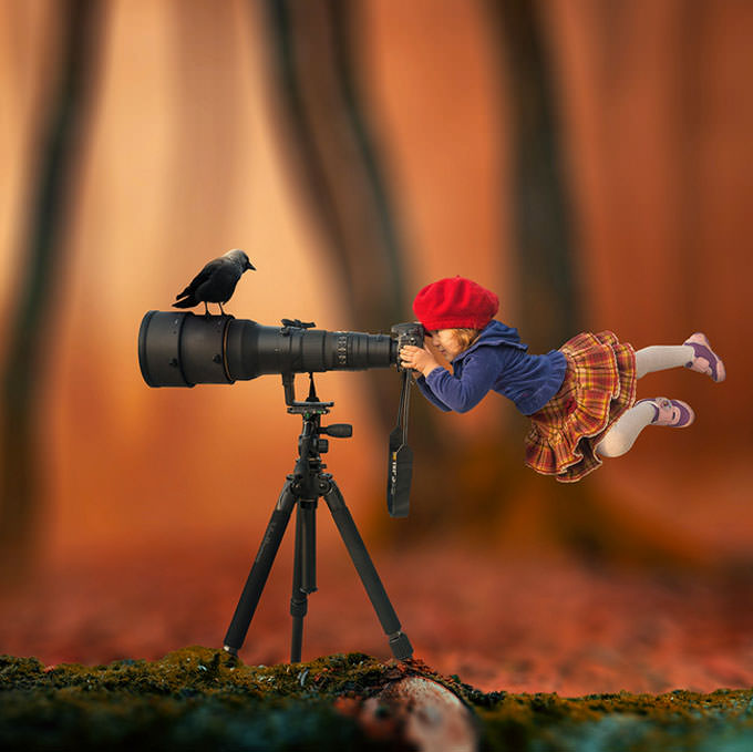 The Little Hunter by Caras Ionut