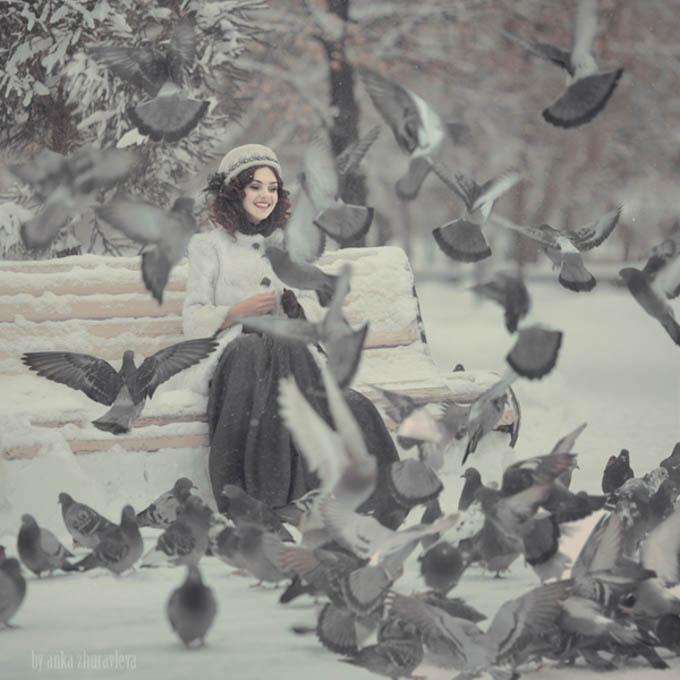 In the Mood for Snow by Anka Zhuravleva