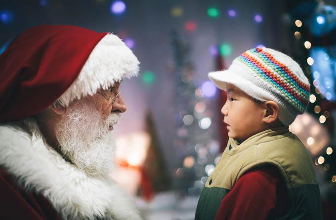 Meeting Santa by Jin Cho