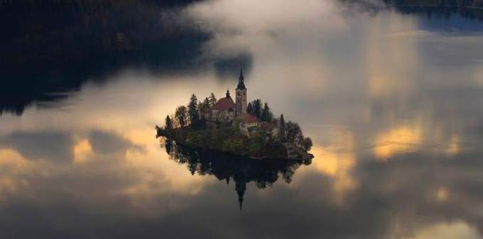 Floating Island by Jure Batagelj