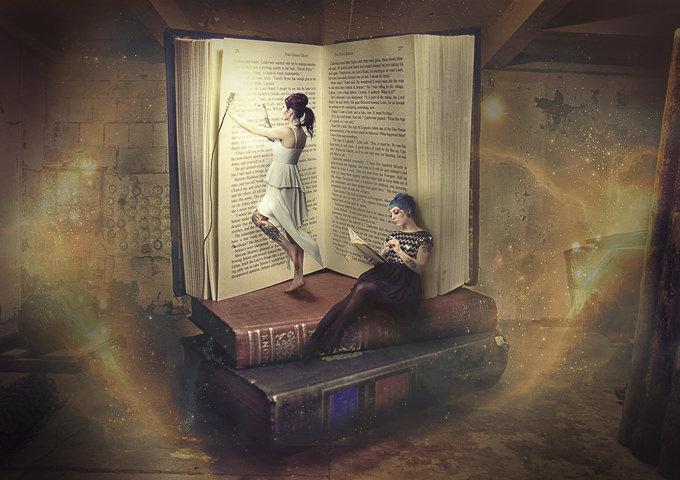 Book Fairies by Justin Quinton