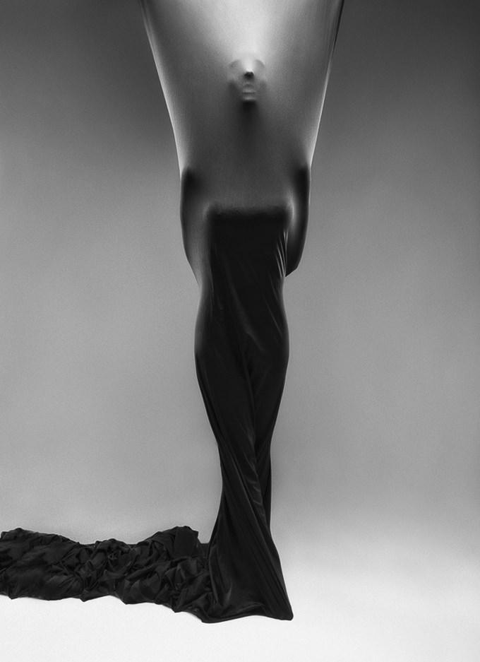 Black Cloth Study 3 by Joel Grimes