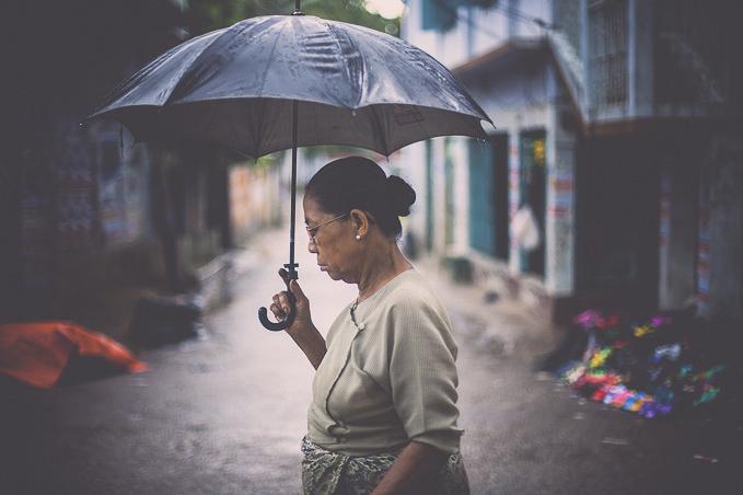 Monsoon Mood by Ata Adnan