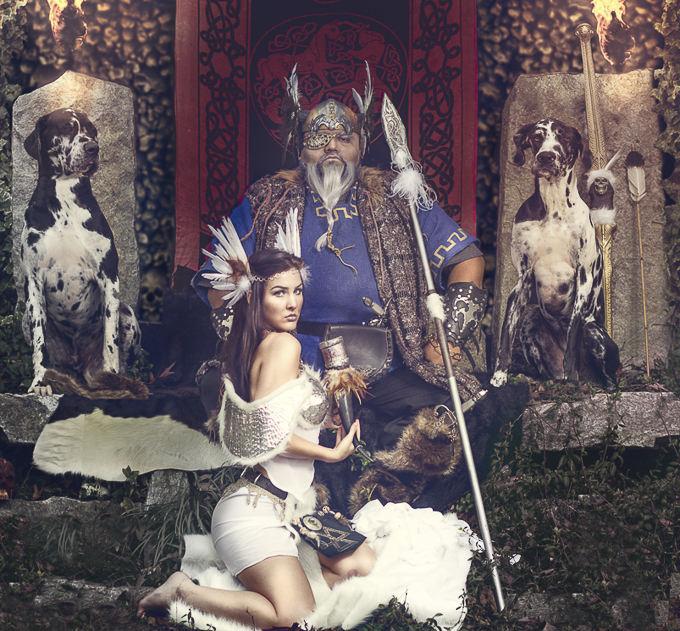 Gods & Goddesses Odin & the Valkyrie by Joseph Richardson