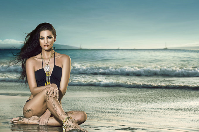 Beach Beauty Bebe by Anil Saxena and Abhijet Raajput