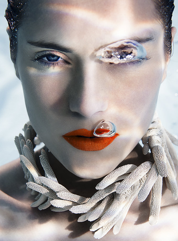 Cool Down Underwater Jewellery Shot by SUSANNE STEMMER