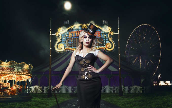 The Ring Mistress. Original Photography by Dan Archer, Retouching Composite by Anthony Yates