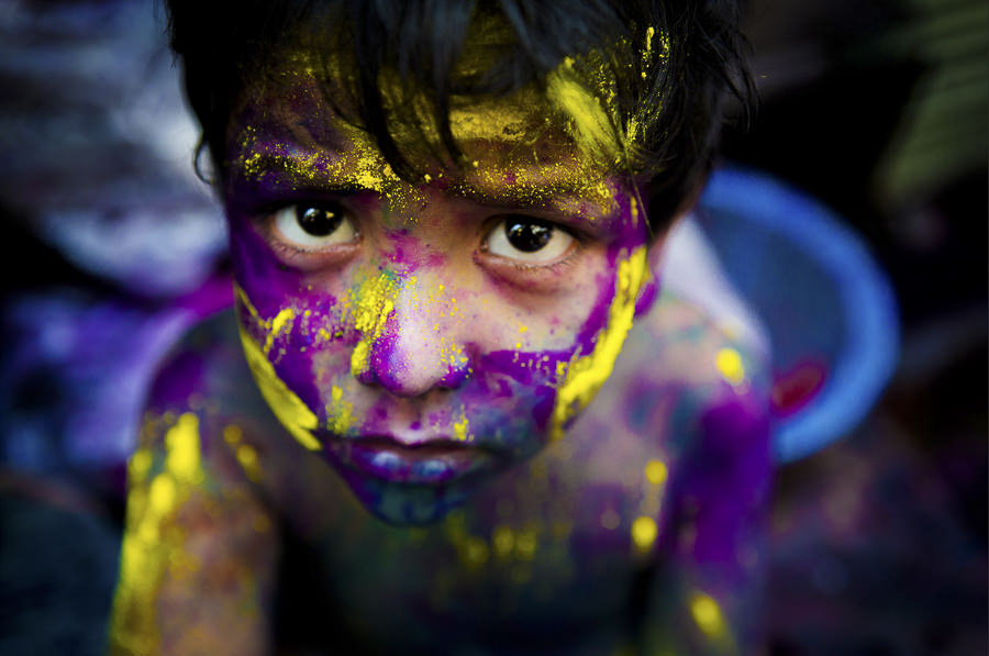 Curiousity of Colors by Kazi Sudipto
