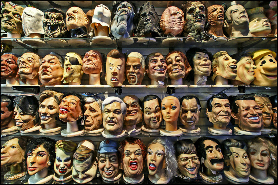 Heads, Faces, Masks by Dan Anderson