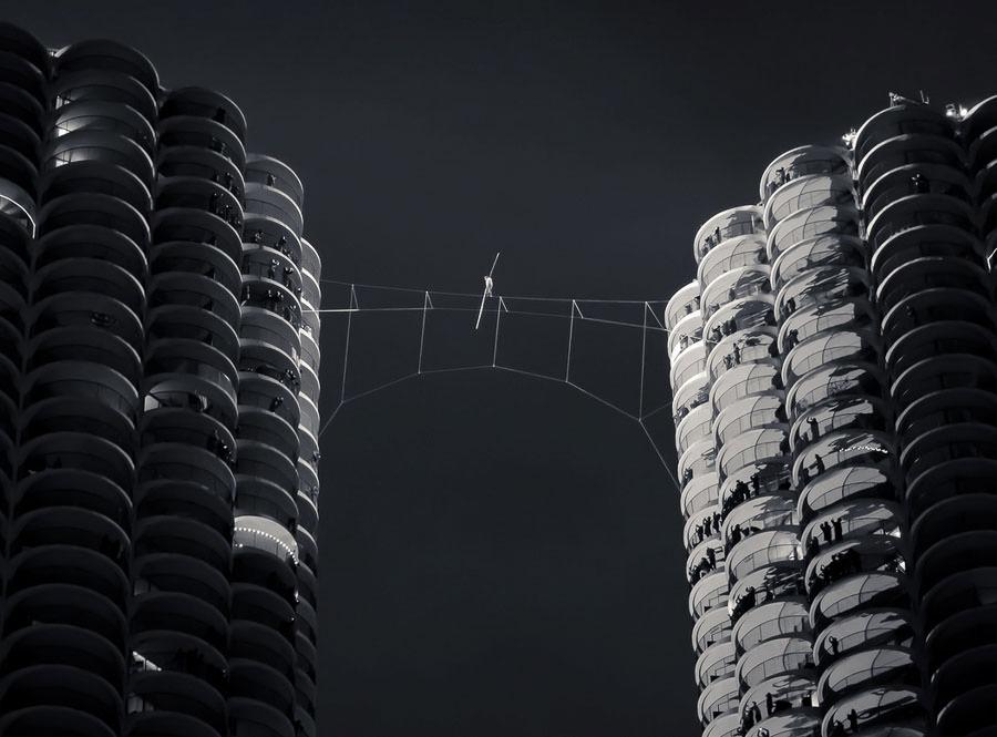 The King of the High Wire - Nik Wallenda by Dane Olsen