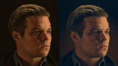 Photoshop Tutorials: How to Retouch a Dramatic Male Headshot in Photoshop