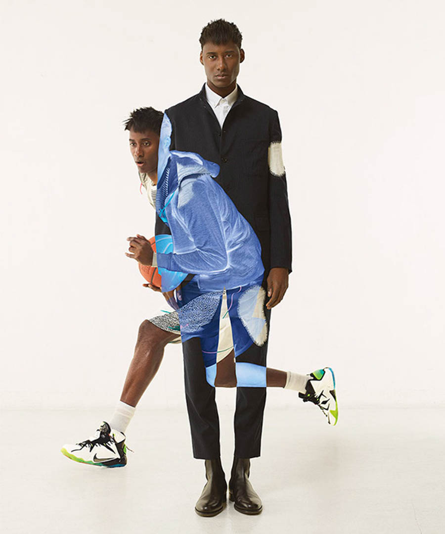 Nike BKRW magazine by Jean Yves Lemoigne