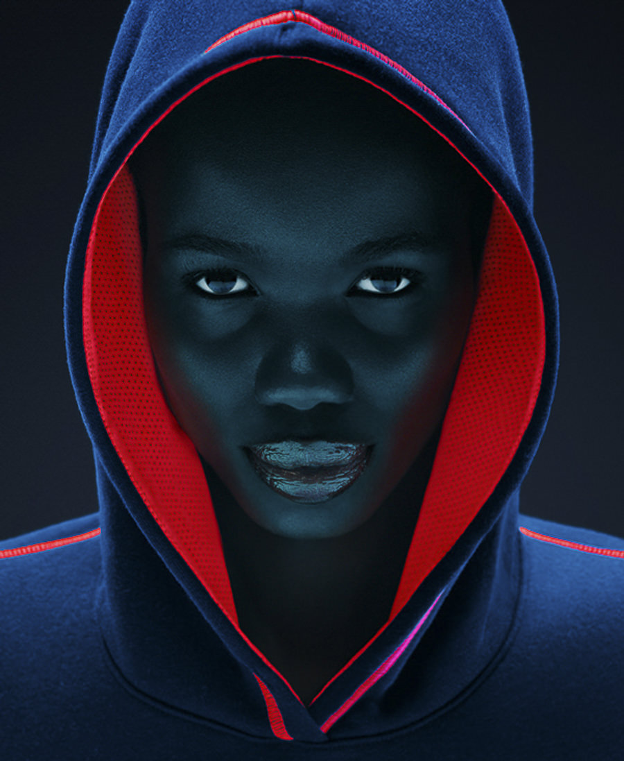 Neon Hoodies by Tim Tadder